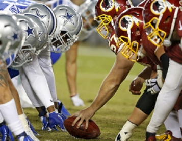 October 20-21 (Sat-Sunday) Dallas Cowboys vs Washington Redskins